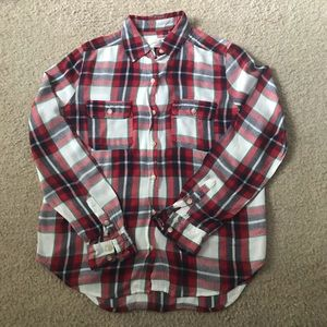 Universal Thread red, green, and blue flannel